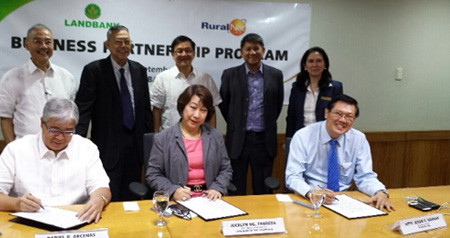 RNET-Land Bank of the Philippines MOA Signing