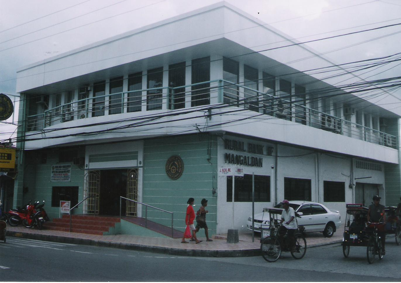 Mangaldan Philippines  City pictures : The Evolution of Rural Bank of Mangaldan: The original old building of ...