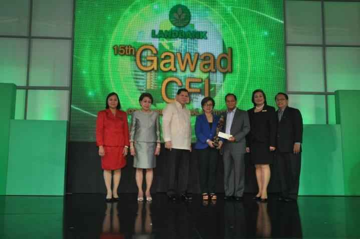 Gateway Rural Bank, Inc. National Award, 2nd Place Best CFI Availer-All Loans