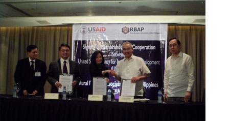 RBAP signs Memorandum of Cooperation with USAID