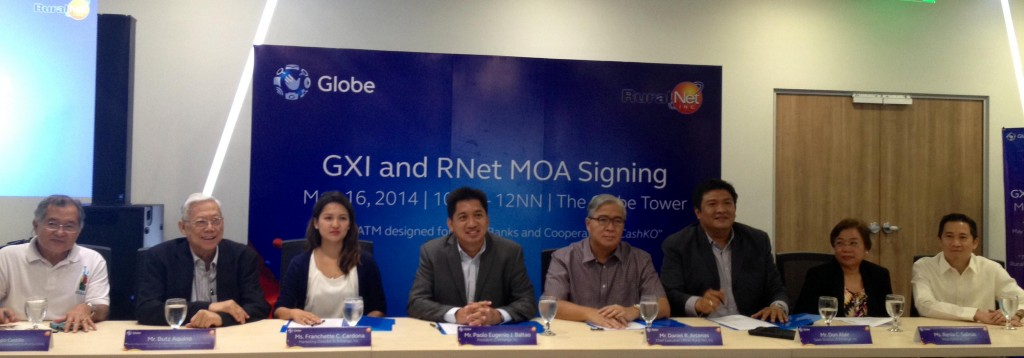 GXI and RuralNet MOA Signing