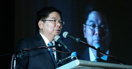 BSP Governor Tetangco at RBAP Induction Ceremony 2014
