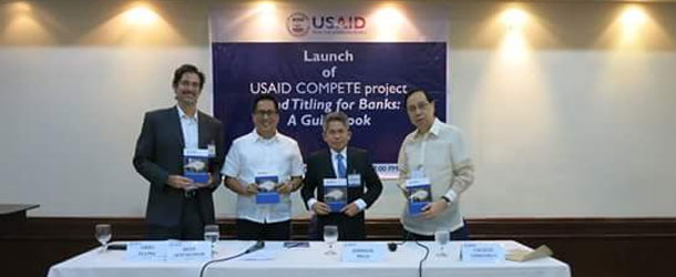 Launch of Land Titling for Banks: A Guidebook