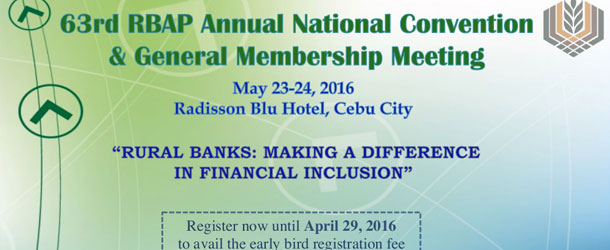 63rd RBAP Annual National Convention & General Membership Meeting