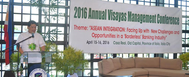 Deputy Governor Nestor Espenilla, Jr., Keynote speaker at the 2016 Visayas Mangement conference in Iloilo City.