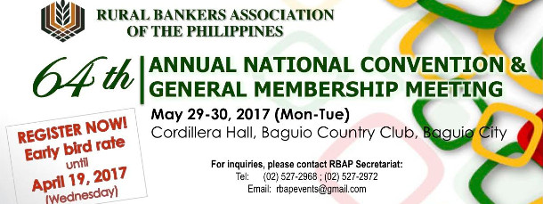 64th Annual National Convention & General  Membership Meeting