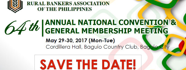 64th RBAP 2017 Convention Save the Date