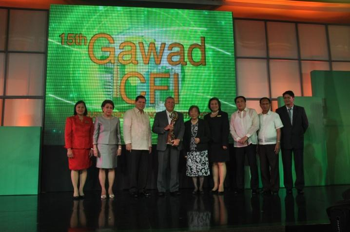 Rural Bank of Cauayan, Inc. National Winner, 4th Place Best CFI Availer, Agri-Agra Loans