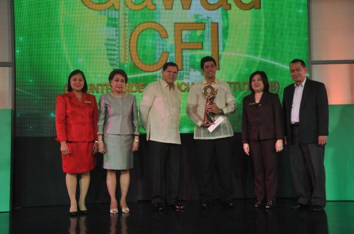 Rural Bank of San Jose, Inc. National Award, 3rd Place