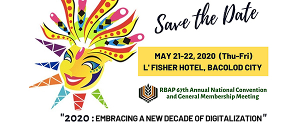 Save the Date 2020 new Decade of Digitalization